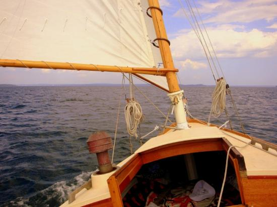 Rockland Sailing Co.: Sailing down east, Penobscot Bay.