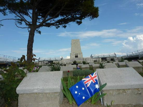 The view the Anzacs never saw! - Picture of Gallipoli ...