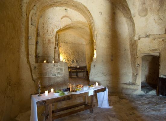Sextantio Le Grotte della Civita: Restaurant