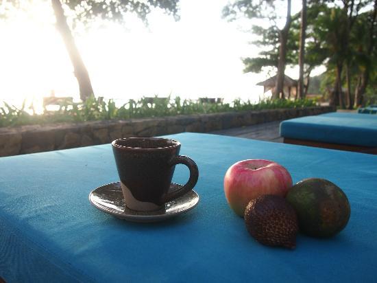 Jeeva Klui Resort: tea time