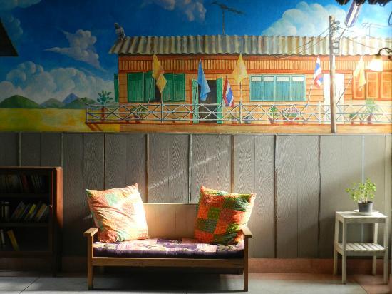 Phranakorn-Nornlen Hotel: couloir