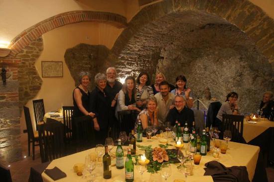 Ristorante Ambrosia: Group pic at Ambrosia