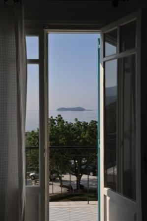 Ostria Hotel and Apartments: Balcony View