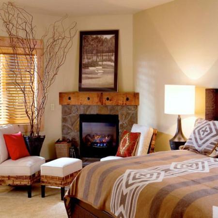 Collins Lake Resort: Bedroom