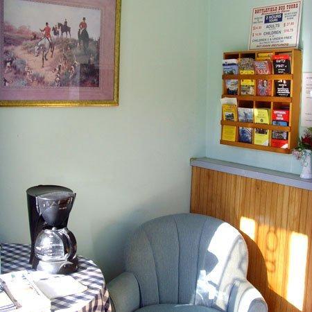 PANorth Ridge Motel Gettysburg Lobby
