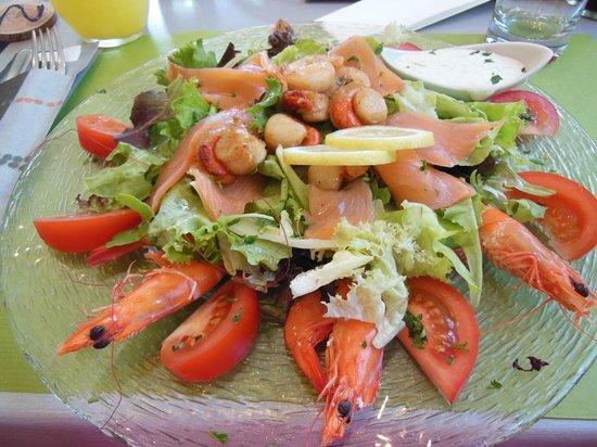 L'Acacia : salade Océane