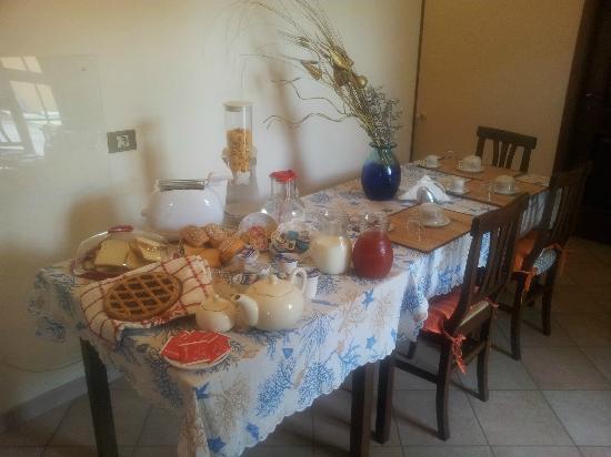 El Paraiso Bed and Breakfast: La nostra colazione