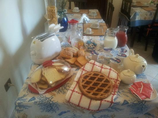 El Paraiso Bed and Breakfast: Il buongiorno del Paraiso!