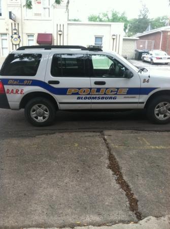 Bloomsburg, بنسيلفانيا: police 