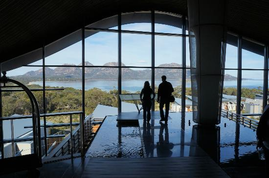 Saffire Freycinet: Breathtaking Reception