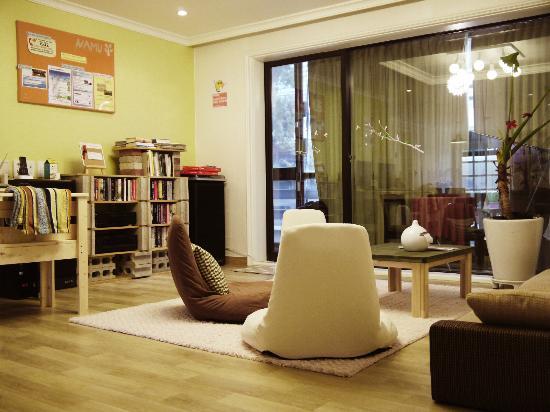 นามู เกสท์เฮาส์: Livingroom1