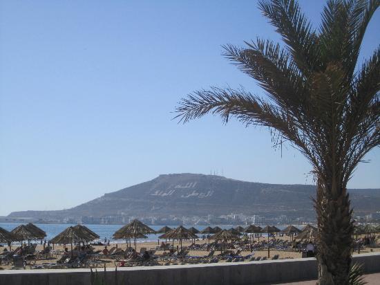 Hotel Timoulay & Spa Agadir: Beach