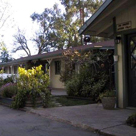 Kelseyville Motel: Courtyard