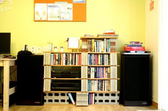 Namu Guesthouse: Livingroom