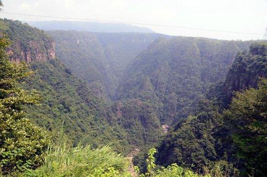 Ruyuan Canyon: Nur eine kleine Teilansicht