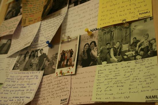 Namu Guesthouse: Memories