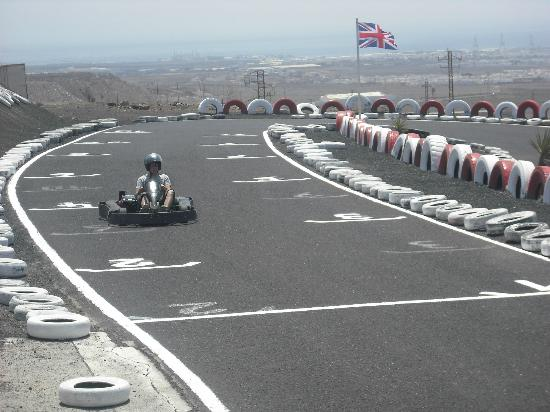 San Bartolome, Spain: Go Karting