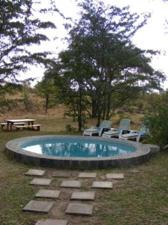 Shindzela Tented Camp: Pool area