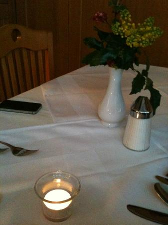 Hotel Auhmuehle: Candlelight-Dinner