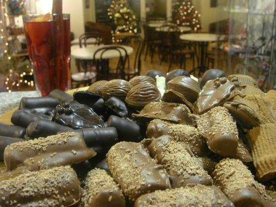 Tobermory Handmade Chocolate : This picture was taken from our