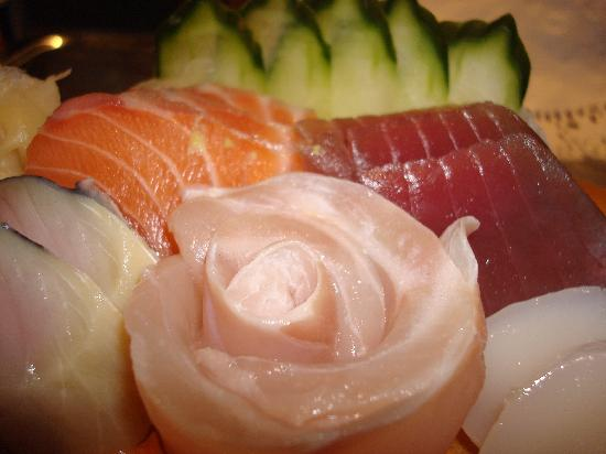 Japanese Restaurant Asahi: Yummy sashimi
