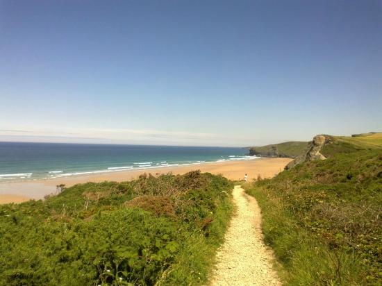 Kernow Trek Lodge: Watergate Bay - only a 15 minute walk or 2 minute drive away