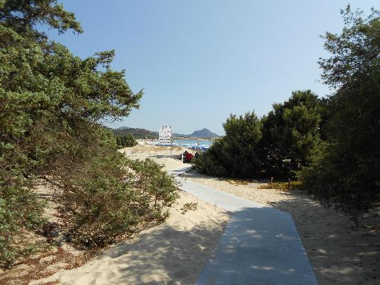 iGV Club Santagiusta: la vista del mare