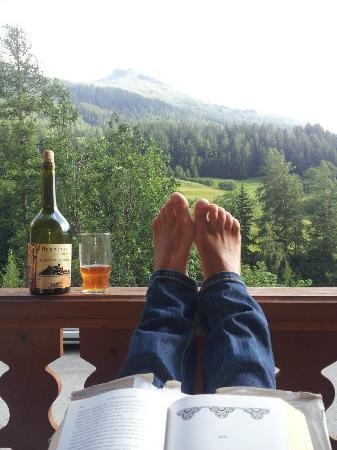 Les Balcons de Val Cenis Le Haut : View from the balcony