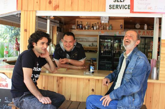 Olympos, Turkije: apo, dj engin and a happy customer