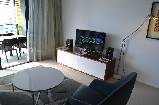 Peppers Broadbeach: Living Area