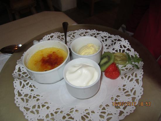 Wirtshaus zum Rehkitz: Crème brûlée