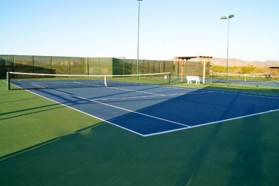 Paraiso Del Mar: Tennis Courts