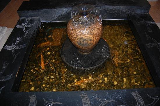 Fountain In Foyer