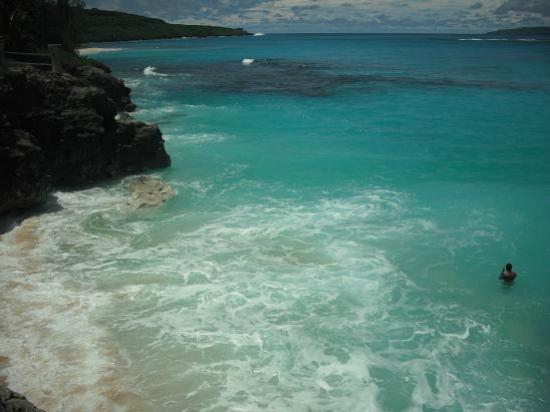 Tinian, Mariana Islands: taga beach
