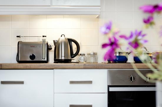 Walled City Apartments: Kitchen