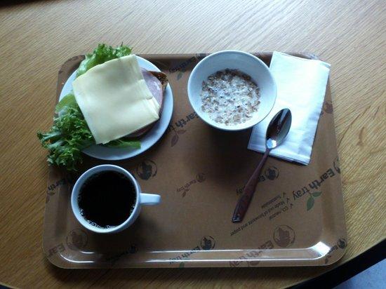 Hostel Academica: завтрак