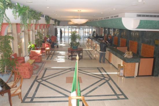Safir Hotel Mazafran : Reception & Lobby