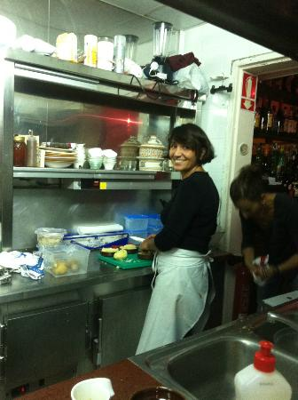 A ma Maison: the Chef Saloua!!!