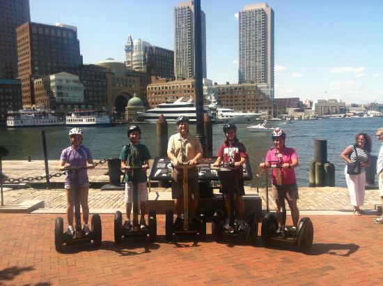 Boston Segway: Segway around Boston Waterfront