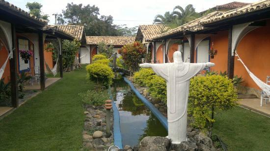 Pousada El Rinconcito: Jardim da pousada El Riconcito