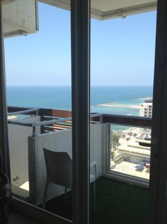 Herods Tel Aviv: view from my room :-)