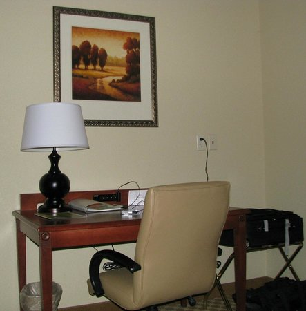 Country Inn & Suites By Carlson, Macon North: Work Desk area
