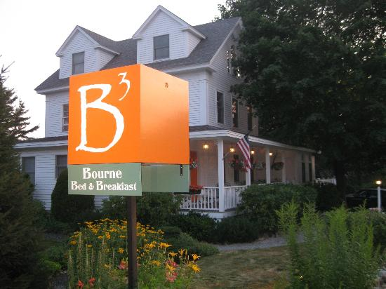 Bourne Bed & Breakfast: beautiful grounds! loved the hammock too.