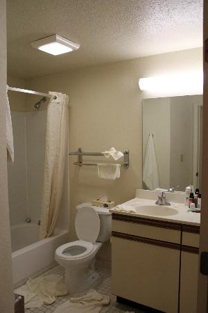 Candlewood Suites Miami Airport West: Banheiro pequeno