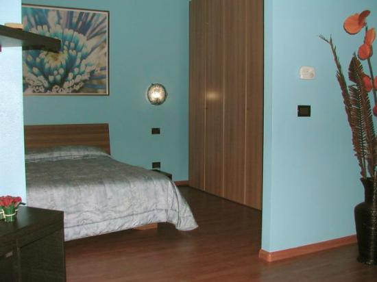Hotel ai Cacciatori: Suite Azzurra - camera da letto