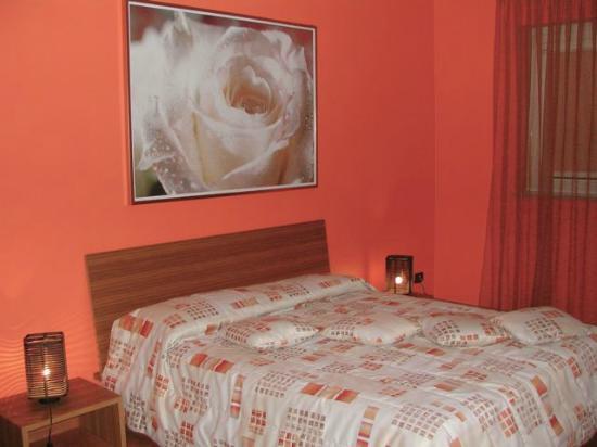 Hotel ai Cacciatori: Suite Gialla - camera da letto