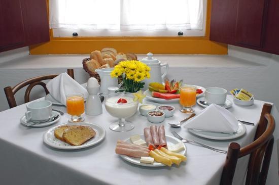 Pousada do Ouro: Breakfast