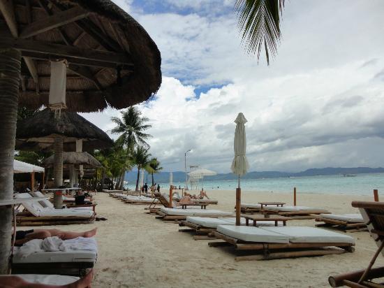 White Beach: view beach
