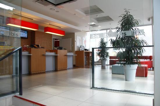 Ibis Kaunas Centre: Reception