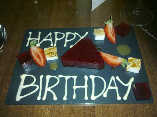 Monty's Brasserie: A special birthday wish from the restaurant